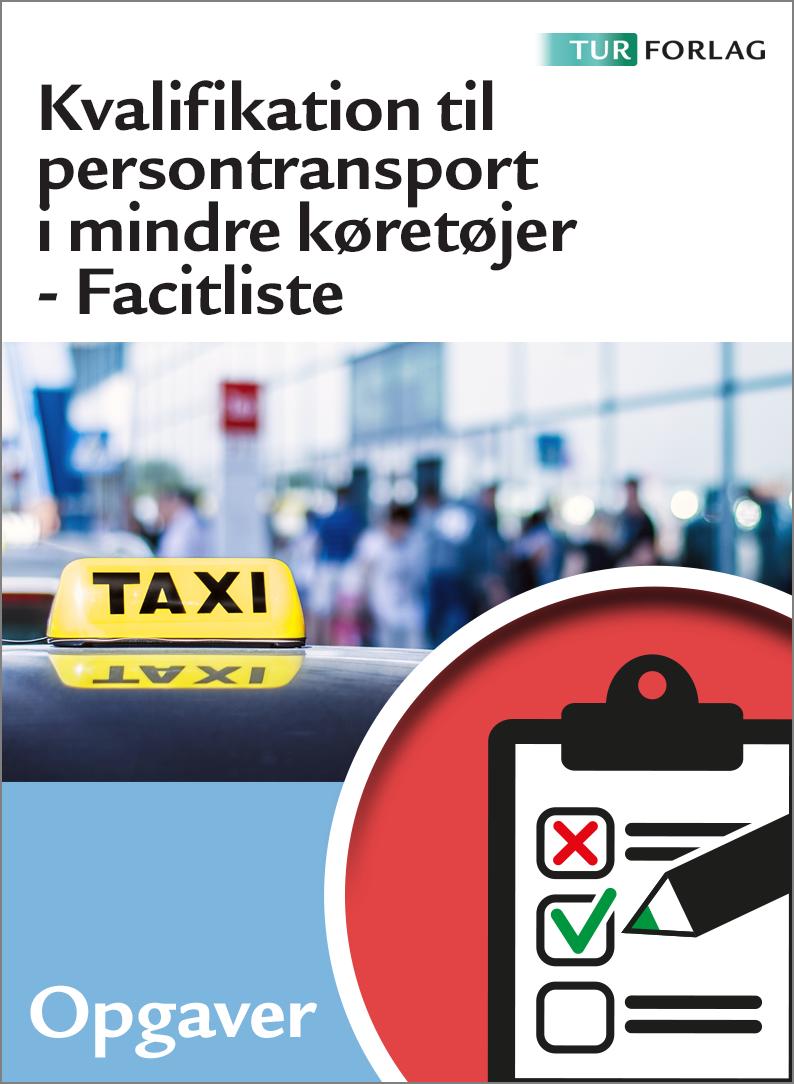 Kvalifikation til persontransport i mindre køretøjer med facitliste