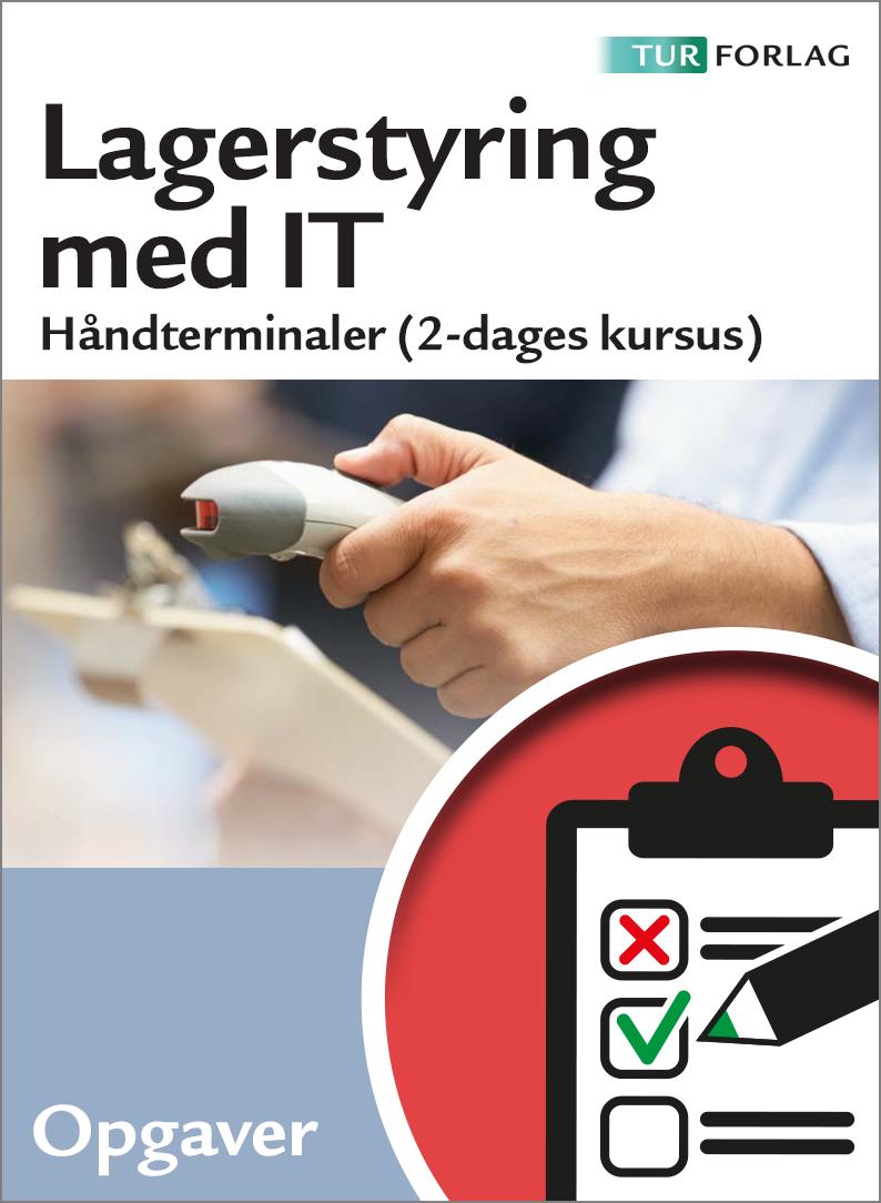 Lagerstyring med IT - Haandterminaler